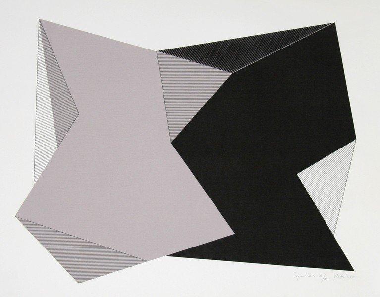 264: Jean-Marie Haessle, Symmetries, Serigraph