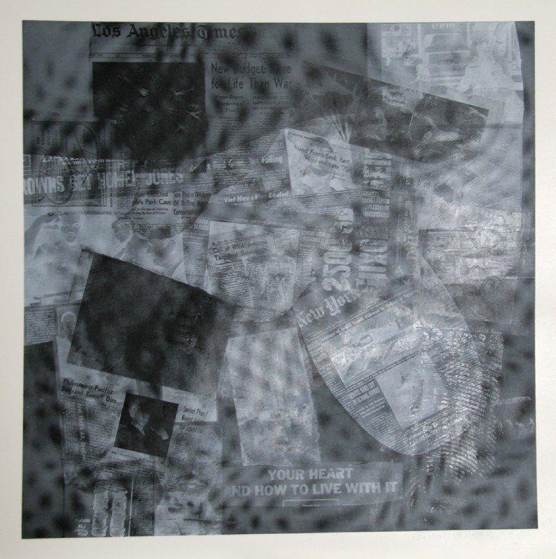 352: Robert Rauschenberg, Surface Series from Currents,