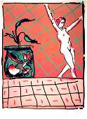 441: Peter Max, Ballet Story, Lithograph