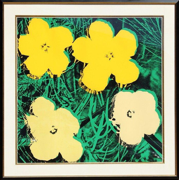504: Andy Warhol, Flowers (FS II.72), Screenprint
