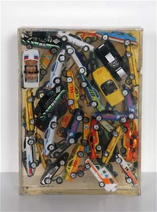 560: Arman, Car Accumulation (Matchbox Cars), Resin Scu
