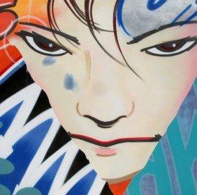 595: John Crash Matos, Misspent Youth, Oil Painting