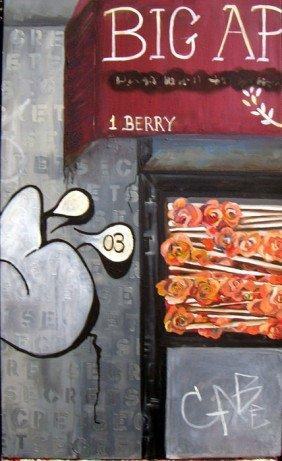 596: Jaime Lischke, Secret, Oil Painting