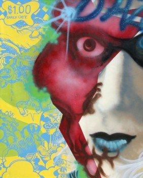 598: Daze, Notorious, Acrylic Painting