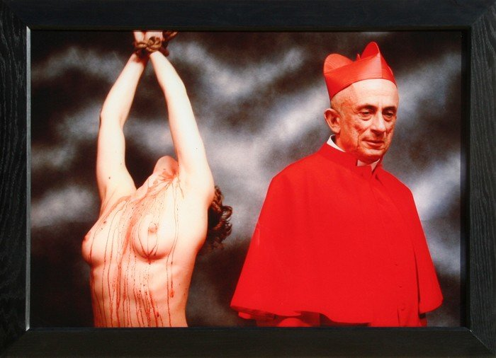 599: Andres Serrano, Heaven and Hell, Cibachrome Photog