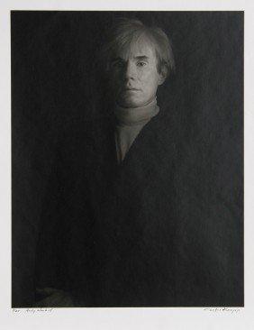 606: Curtis Knapp, Andy Warhol, Photograph