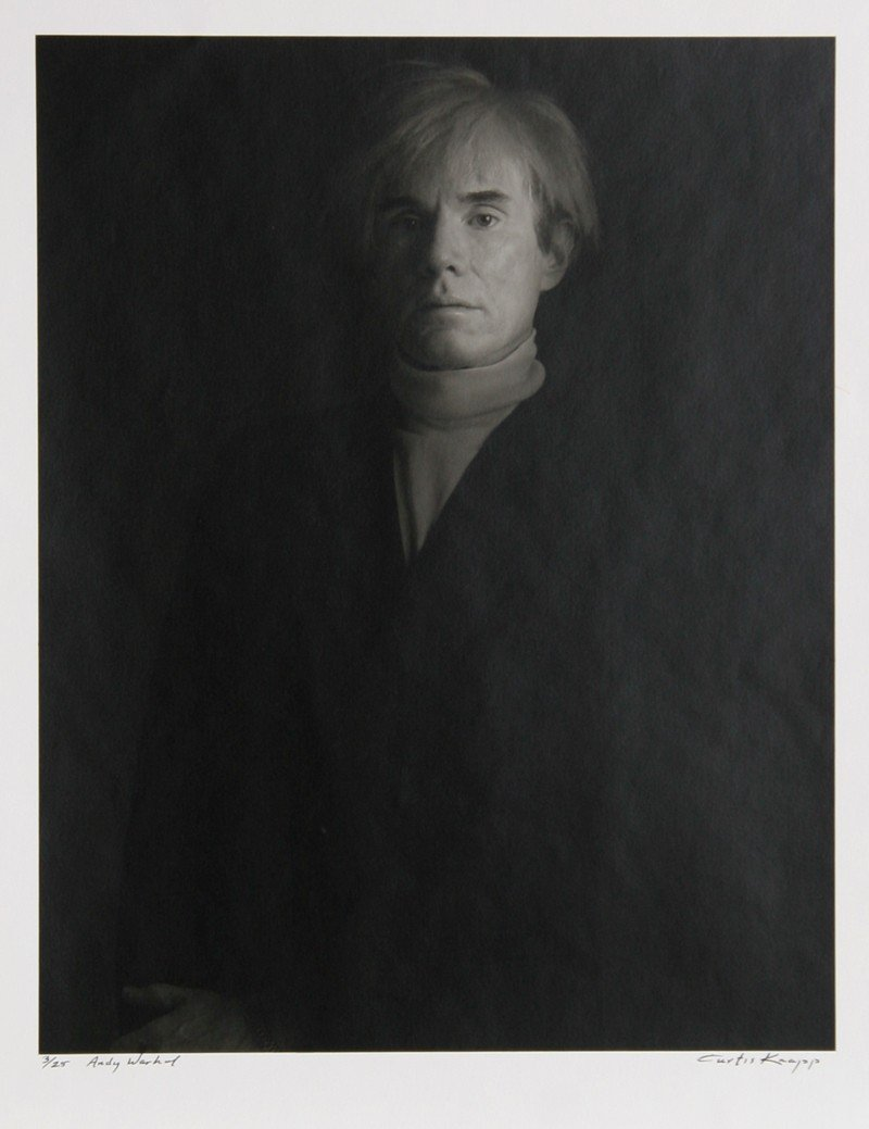 606: Curtis Knapp, Andy Warhol, Photograph