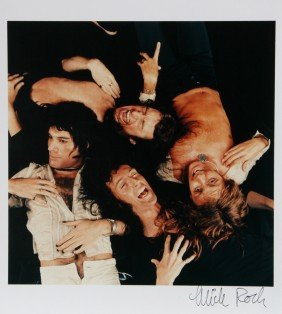 610: Mick Rock, Queen, Color Photograph