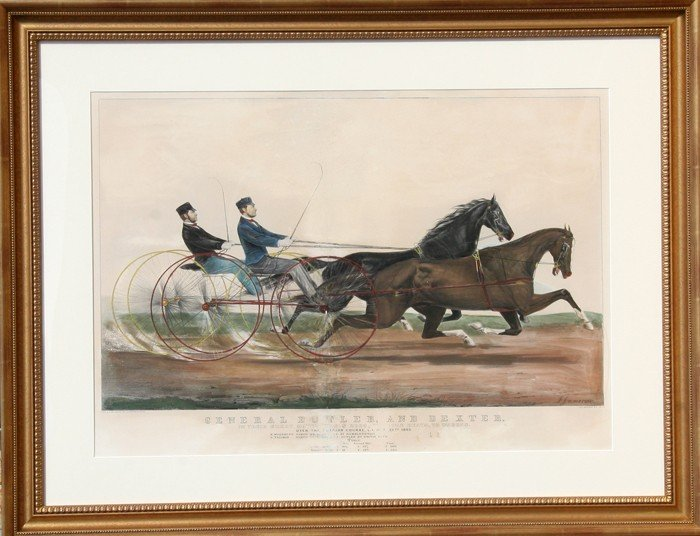 1: Currier and Ives, General Butler and Dexter, Hand Co