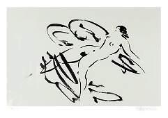 132 Reuben Nakian Leda and the Swan 4 Etching with C