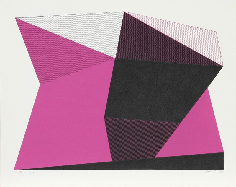 149: Jean-Marie Haessle, L.A. Pink, Serigraph