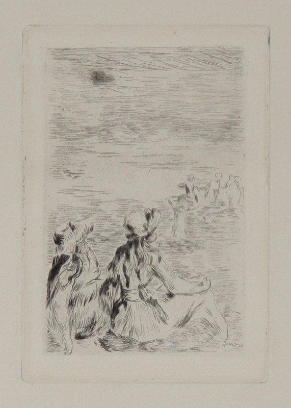 5: Pierre-Auguste Renoir, Sur la Plage, a Bernaval, Etc