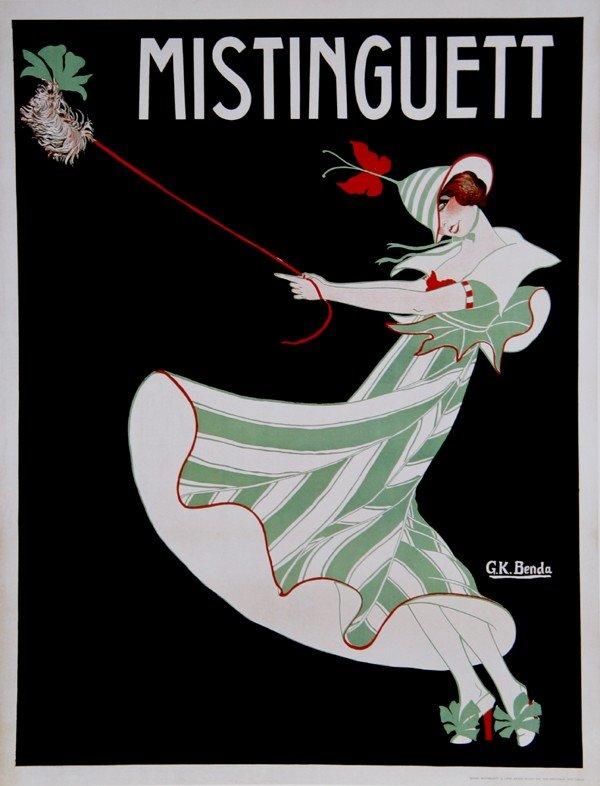 8: G.K., Mistinguett, Poster