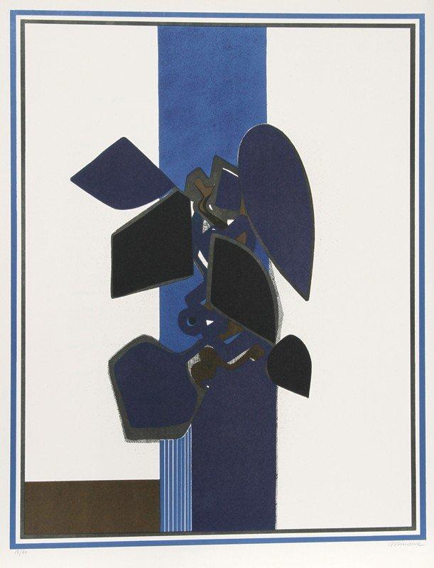9: Andre Minaux, Nature Morte from the Helene Portfolio