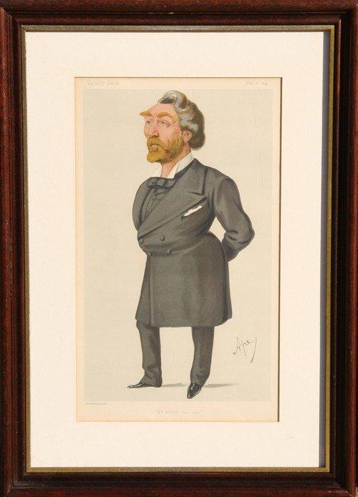 500: Leslie Matthew Ward, Mr. Arthur John Otway, M.P.,