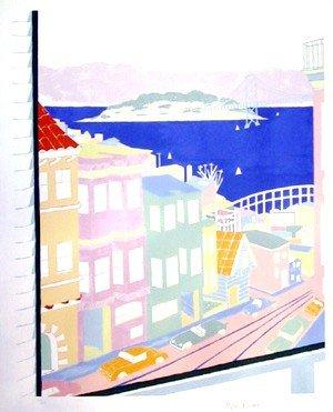 514: Marion McClanahan, San Francisco, Lithograph