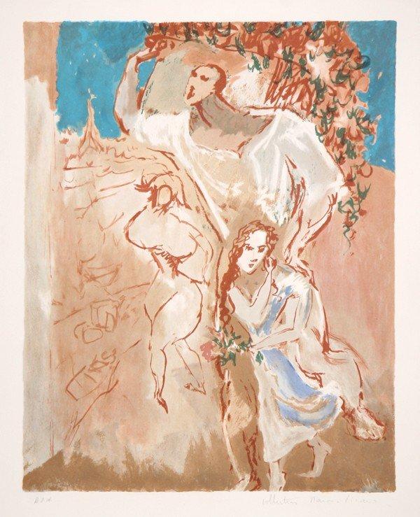 523: Pablo Picasso, Etude de Personnages, Lithograph