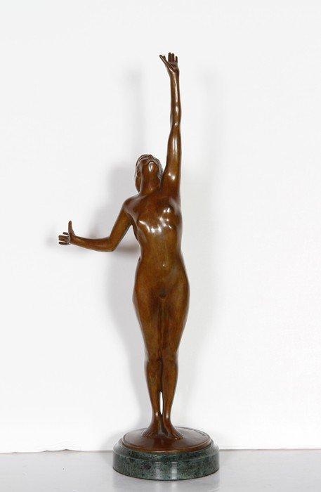 16: Harriet Whitney Frishmuth, Star, Bronze Sculpture
