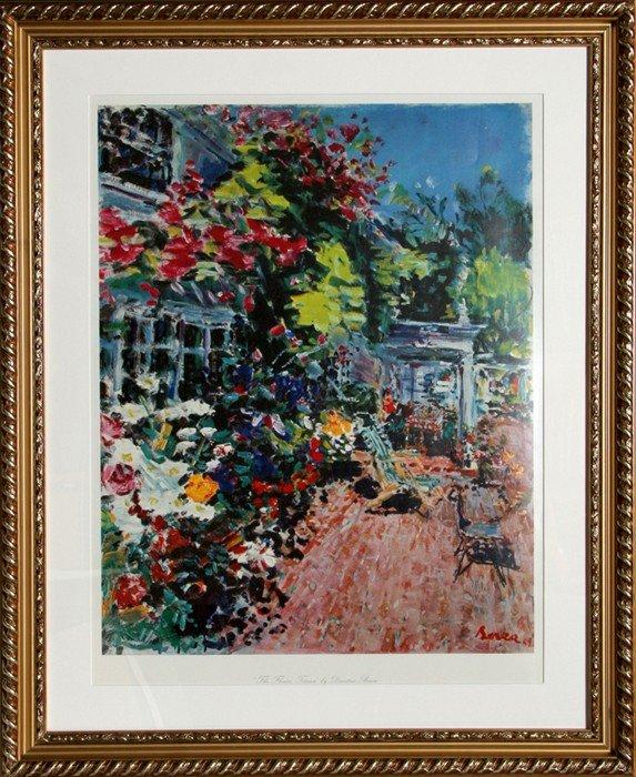 19: Dimitrie Berea, The Flower Terrace, Poster