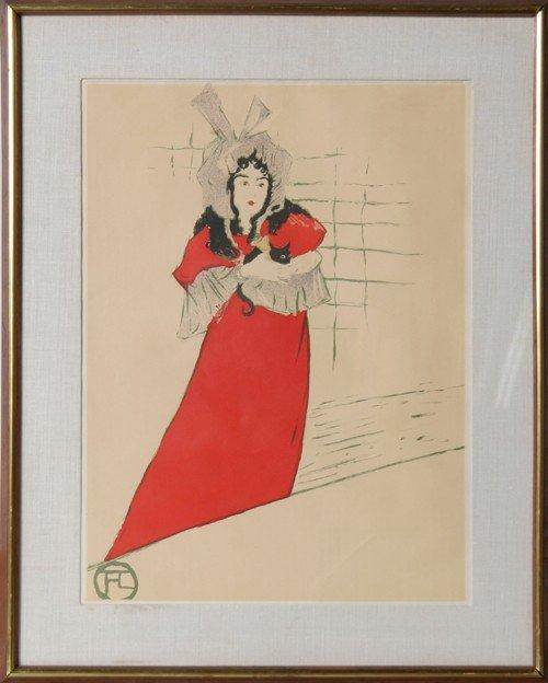 2: Henri de Toulouse-Lautrec, May Belfort, Poster