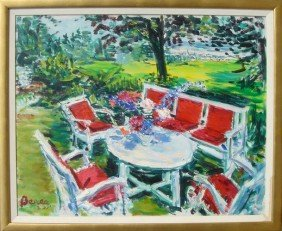 6: Dimitrie Berea, Red Chairs in Johannisberger, German