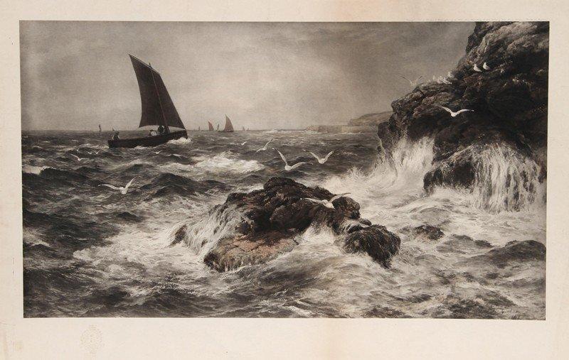 8: Seascape, Photogravure