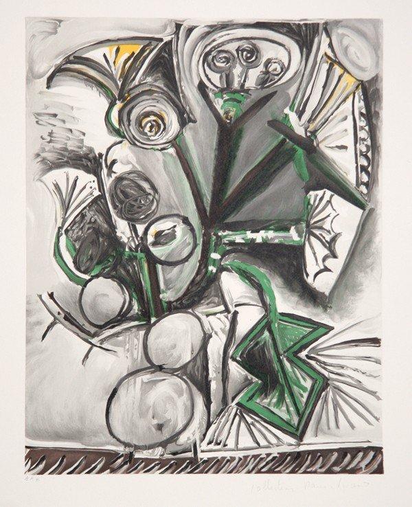 18: Pablo Picasso, Le Bouquet, Lithograph