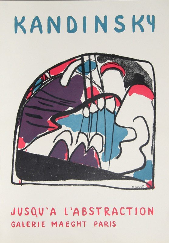 24: Wassily Kandinsky, Jusqu'a L'Abstraction - Galerie