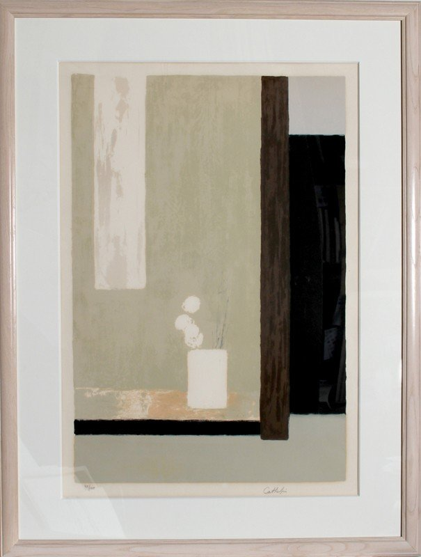 33: Bernard Cathelin, Still Life 2, Lithograph