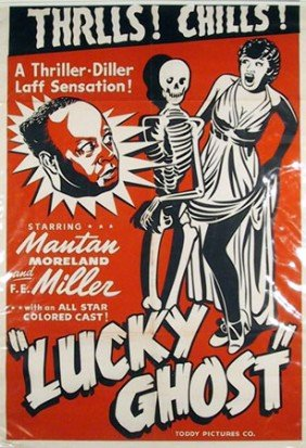 Mantan Moreland In Lucky Ghost, Movie Poster