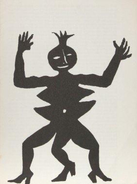 Alexander Calder, Acrobat In Heels, Lithograph