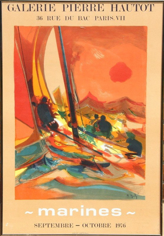 66: Marcel Mouly, Marines, Poster