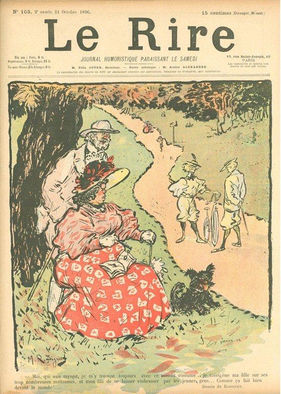 16: Maurice Radiguet, Le Rire, No. 103, 10 Page Newspri