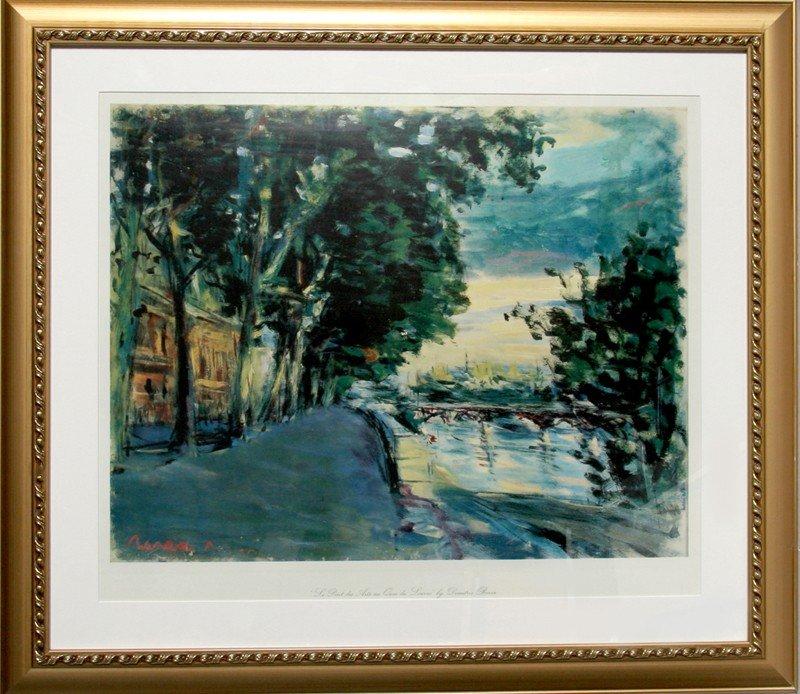 20: Dimitrie Berea, Le Pont des Arts au Quai de Louvre,