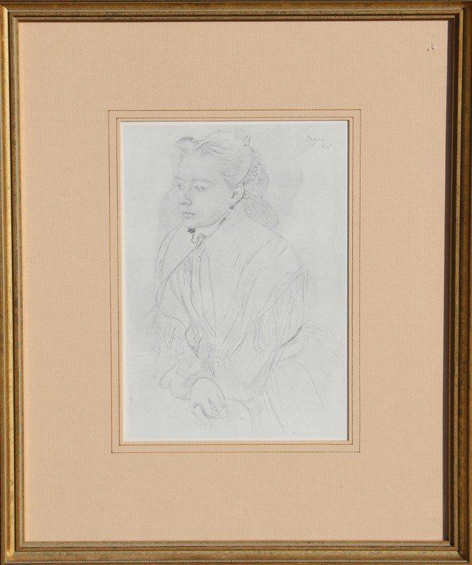 24: Edgar Degas, Offset Lithograph