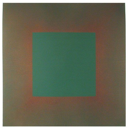148: Richard Anuszkiewicz, Autumn Suite (Green with Pur