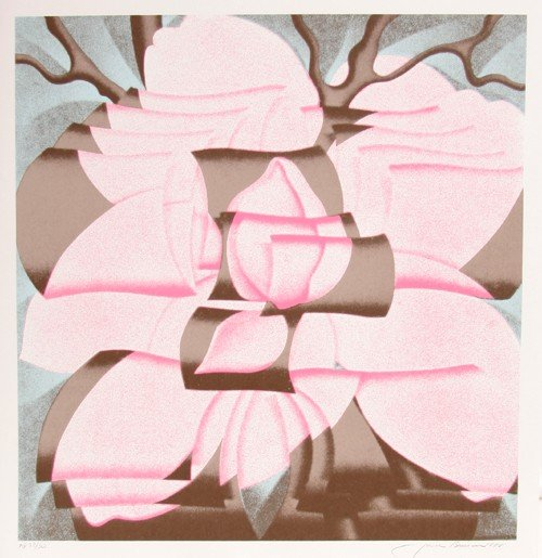 153: Jack Brusca, Magnolia, Serigraph