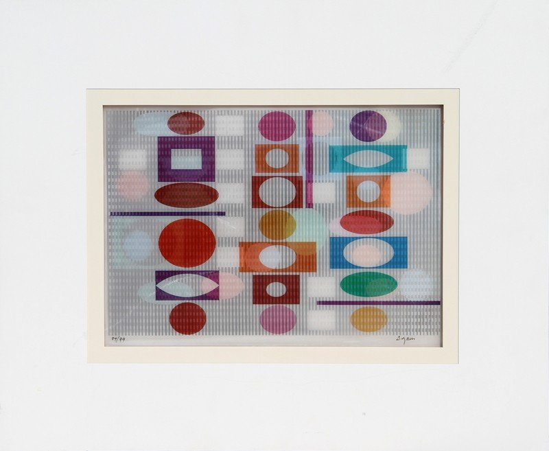 154: Yaacov Agam, Inter Image, Agamograph