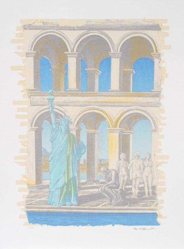 168: Norvel Hermanovski, Liberty, Silkscreen