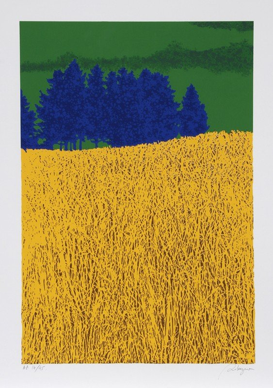 213: Daniel Riberzani, Field, Silkscreen