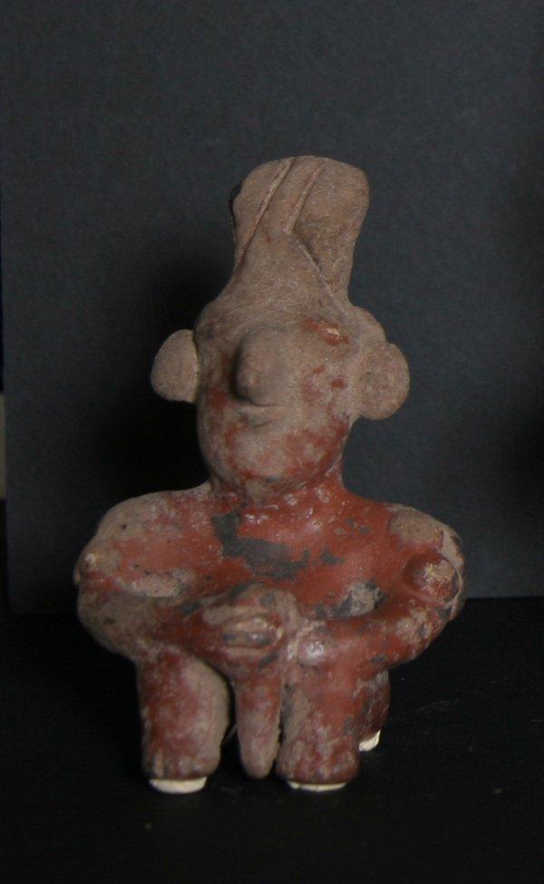 2: Pre-Columbian Artifact, West Mexico, Jalisco Figure,