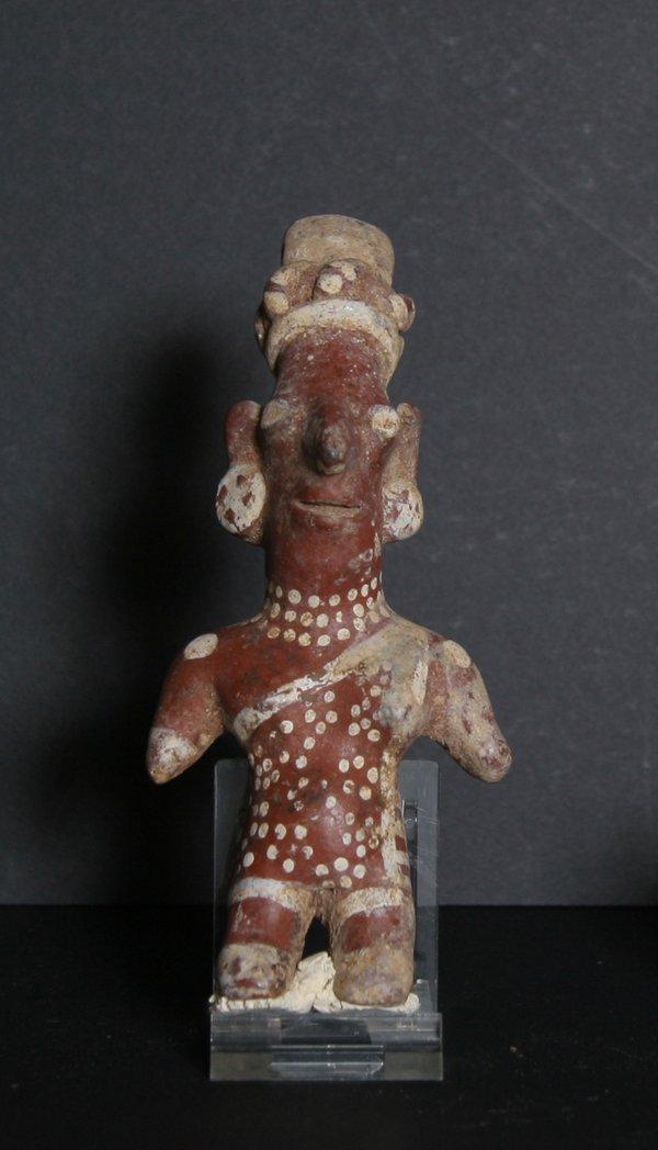 3: Pre-Columbian Artifact, West Mexico, Jalisco Figure,