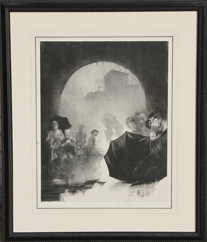 8: Henri Patrice Dillon, Memories, Lithograph