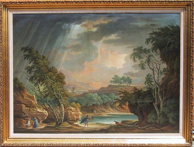 12: Adolf Friedrich Harper, Oil Painting