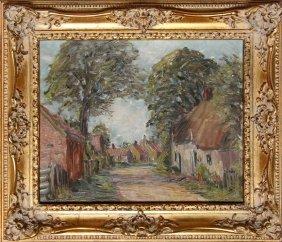 Harold Bennett, Brigsley Village, Lincolnshire, Oil