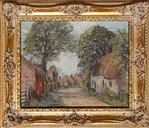 25: Harold Bennett, Brigsley Village, Lincolnshire, Oil