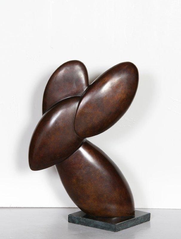 63: Constantin Antonovici, Rabbit, Bronze Sculpture