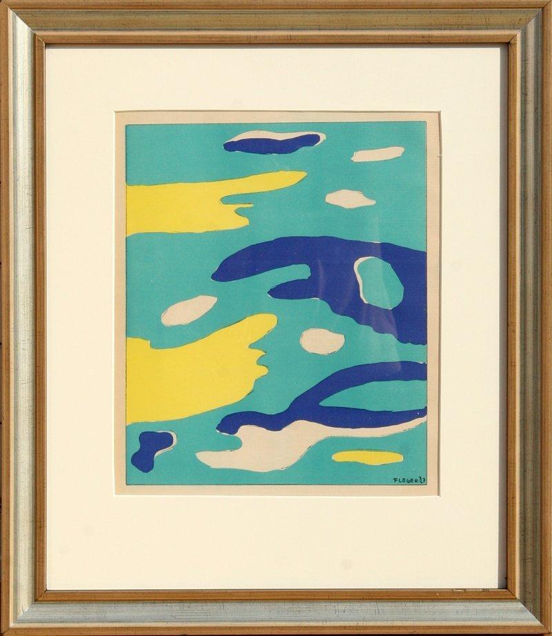 67: Fernand Leger, Water, Lithograph