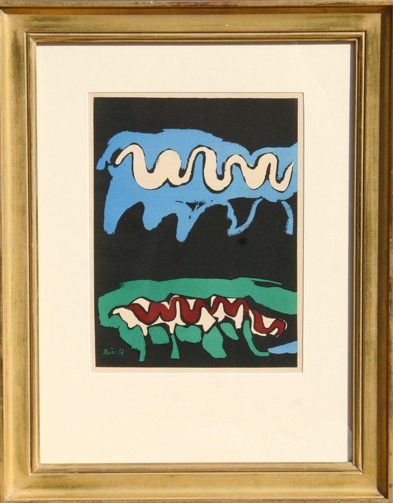 69: Francisco Bores, Earth, Lithograph