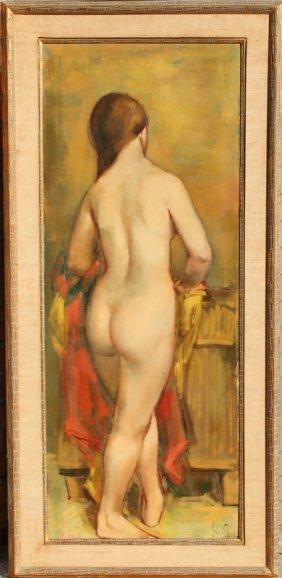 Jan De Ruth, Le Bain, Oil Painting